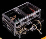 Clear Plexiglass Acrylic Retail Makeup Jewellery Display Case