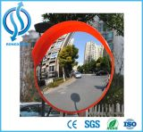 Unbreakable Orange Traffic Convex Mirror Indoor and Outdoor