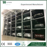 3 or 4 Floors Vehicle Hydraulic Lift Multi-Level Car Parking Stacking System / Car Storage