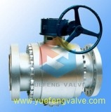 Side Entry 3PC Forged Trunnion Ball Valve