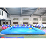 Giant Colorful Outdoor Amusement Play Park, 0.65mm PVC Inflatable Water Swimming Pool, Commercial Water Pool