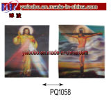 Party Items Plastic Picture 3D Picture for Jesus (PQ1058)