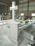 G664 Simple Granite Tombstone for Middle Europe Market