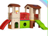 Indoor Playground Cheap Kids Blow Molding Play House Slides for Amusement Park