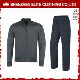 Fashion High Quality Grey Tracksuit Bomber Jacket and Pant (ELTTI-22)