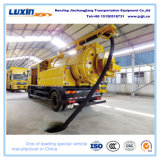 China Sewage Ietting Suction Vacuum Tanker Truck for Sale