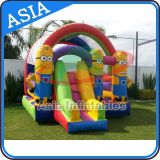 Inflatable Party Hire Minions Bouncer and Slide Combo