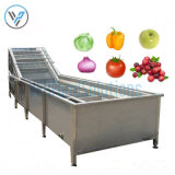Industrial Vegetable Fruits Bubble Water Spraying Washing Machine for Sale