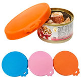 Silicone Dog Cat Storage Top Cap Reusable Cover Scoop Feeding Can Tin Food Kit