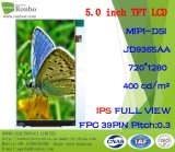 5.0 Inch IPS HD 720X1280 High Quality Mobile Phone TFT LCD Module