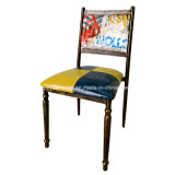 Stacking Metal Restaurant Cafe Furniture Chair (JY-R38)