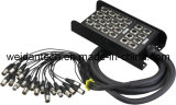 20 Channel Audio 15′ XLR Stage Snake Cable