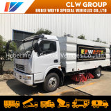 Dongfeng Street/Square/Factory/Airport Cleaning Vehicle 8cbm 8tons Vacuum Road Sweeper