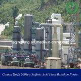 Sulfuric Acid Plant Based on Pyrite in Canton Yunfu