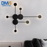 Modern Art 6 Heads Iron Wall Lamp for Living Room