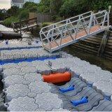 Environmental Aquatic Durable Jet Ski and Yacht HDPE Small Floating Dock
