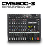 Top 4A 1: 1 Quality Cms 600-3 Compact Mixing Console with Cover for Easy Carry