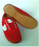 Red New Canvas Shoes (WS01001)