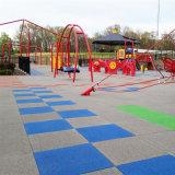 Garden Rubber Mats Tile Interlocking Playground Kindergarten Flooring Playground Flooring