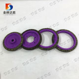 Purple and Different Shapes Plate Disc Brush for Textile