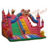 Inflatable Cartoon Bouncer Slide with High Quality Best Price