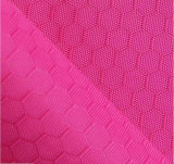 Hexagon Jacquard Polyester Oxford Fabric Coated PVC/PU for Bag and Tent