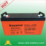 12V 120ah Solar Deep Cycle Gel Battery for Telecom, Solar System