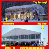 Fastup Factory White Double Decker Marquee Tent for Car Show