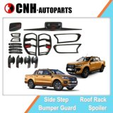 Auto Accessory Exterior Body Moulding Kit for 2016 2019 Ford Ranger T7 T8 with Red Letter