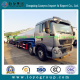HOWO T5g 8X4 Aluminum Oil Tank Truck for Sale