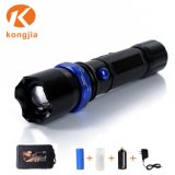 High Power Rechargeable Flashlight 1101 Police LED Torch Light