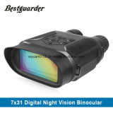 7X31 Wide View Digital Night Vision Binocular up to 400 Meters with 2'' TFT LCD