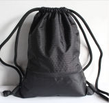 Waterproof Polyester Drawstring Backpack, Sports Bag