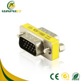 Customized dB15 PVC Power VGA Male to Male Adapter for Laptop