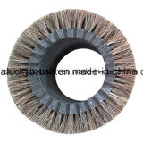 Horse Hair Round Wheel Brush (YY-704)