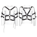 S-218 Clothes Accessory Fashion Harness Women Military Leather Belts