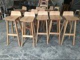 Elegant Oak Wood Restaurant Cafe Morph Bar Stools (DS-L001)