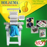 High Speed Single Head Computer Embroidery Machine for Flat Cap T-Shirt Clothes Embroidery