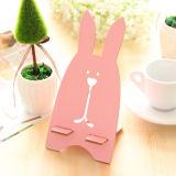 Creative Mobile Phone Seat Cartoon Prison Rabbit Wooden Phone Bracket