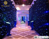 3 X 3m Blue and White LED Starlit Curtain for Disco Party Effect Lighting