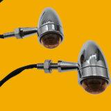 Metal Motor Winker Lamp, LED Motorcycle Indicator Light
