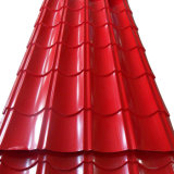 Red 960mm Corrugated Color Roofing Sheet