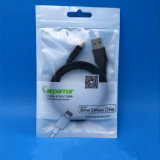 Promotion Plastic Packing Zipper Bag for Cable iPhone Cover Packaging