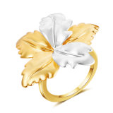 Top Quality Two Tone Color China Manufacturer Fashion Jewellery Jewelry Ring