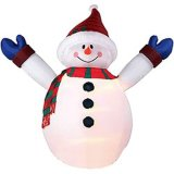 Giant Inflatable Advertising Cartoon Model (Snowman, Santa Claus, Christmas tree, bear)