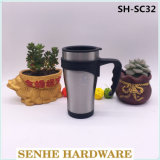 450ml Water Cup Stainless Steel Travel Mug Cup with Handle (SH-SC32)