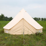 Outdoor Waterproof Family Camping and Winter Glamping Cotton Canvas Yurt Bell Tent