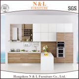 Modular Cheap MFC Kitchen Cabinet Furniture for Hotel Project