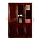 Antique Wholesale Classic Walnut Office Cabinet (HY-C610)