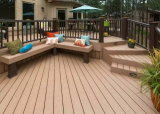 ASA-PVC Co-Extruded Exterior Landscape Wood Plastic Composite WPC Decking Floor Material Supplier in China